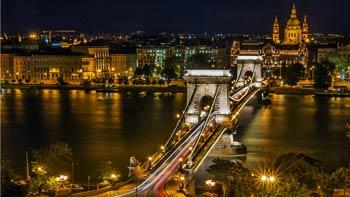 Budimpešta i Beč nova godina