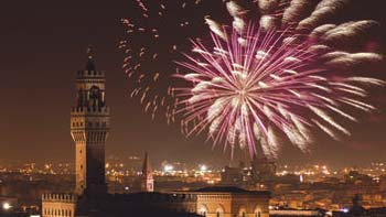 Firenca • Toskana • nova godina