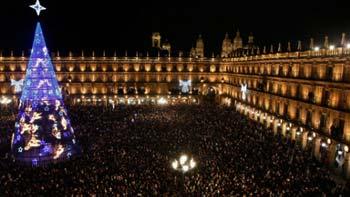 Madrid • doček nove godine