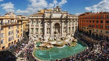 Rim  ✈ avionom  ✈ 13. april