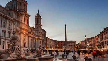 Rim ✈ 22. oktobar  ✈ avionom