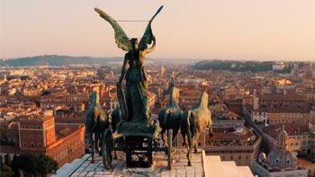 Rim  ✈ 29. april  ✈ avionom