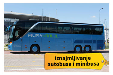Iznajmljivanje autobusa i minibusa