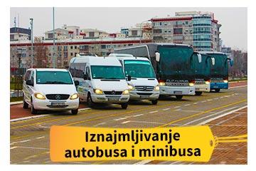 Iznajmljivanje autobusa i minibusa