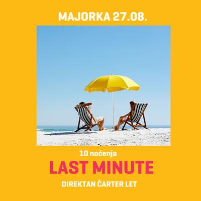 Letovanje Majorka - LAST MINUTE