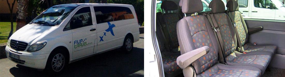 iznajmljivanje minibusa - minibus rental