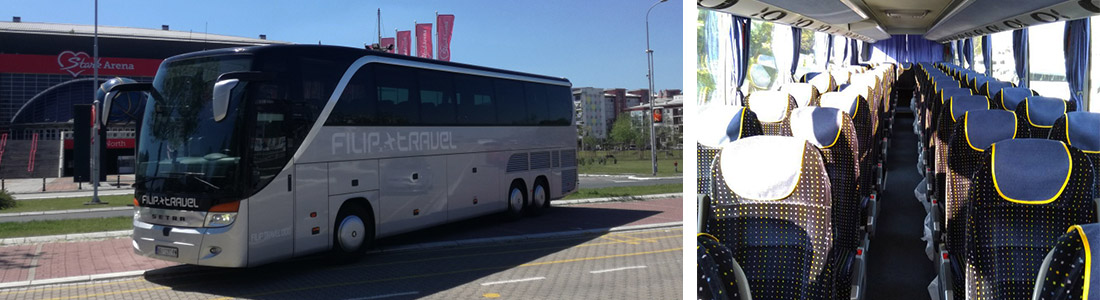 iznajmljivanje prevoza iznajmljivanje autobusa