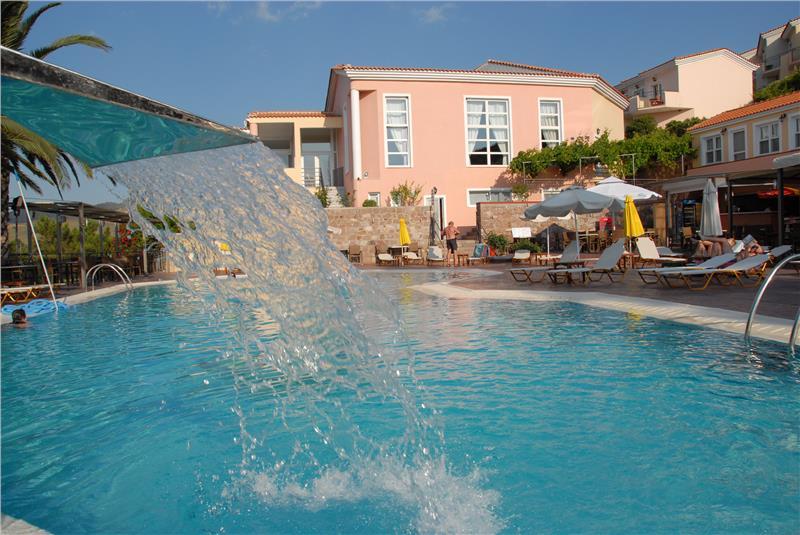 lezbos hotel sun rise - lesvos