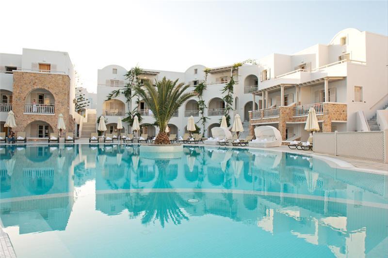 santorini hotel aegean plaza