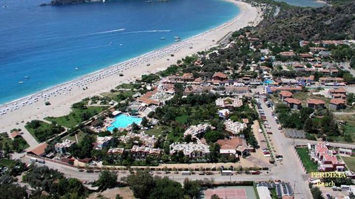 fetije hotel perdikia beach 3*