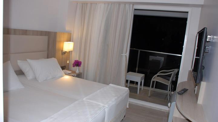 marmaris hotel begonville beach 4*