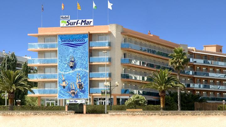 ljoret de mar hotel surf mar 4*