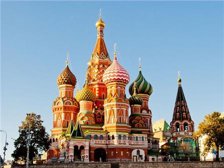 Moskva i St. Peterburg 22. jul
