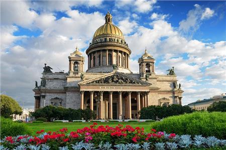 Sankt Peterburg i Moskva 29.12.2018