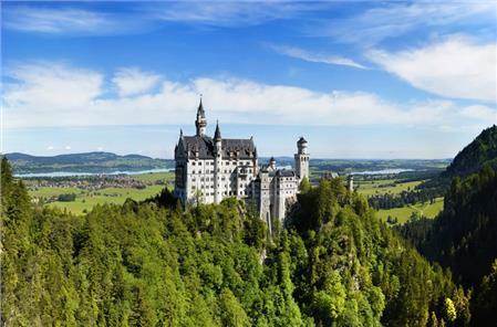 Dvorci Bavarske novembar