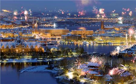 Stokholm, Talin i Helsinki